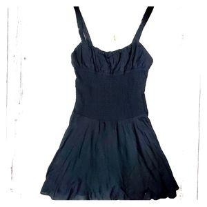 NEW Free People Black Viscose Dress Size XS